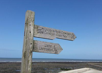 Ceredigion Coastal Path Llanon