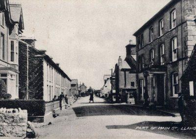 Main Street Llanon