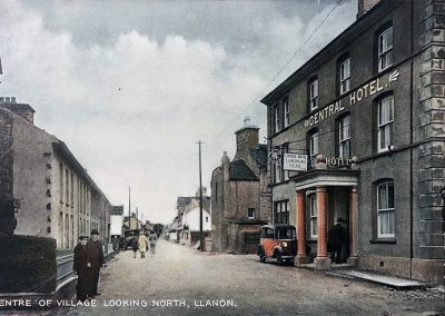 Centre Of Llanon 1910